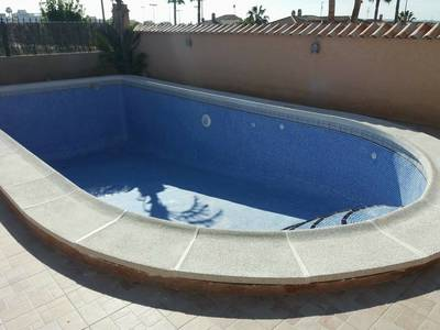 Pool Re-Grout in La Marina Alicante Costa Blanca