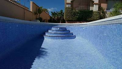 Pool Re-Grout in La Marina Alicante