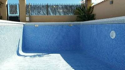 Pool Re-Grout in La Marina Costa Blanca